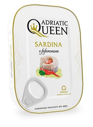 Sardina u biljnom ulju s feferonom