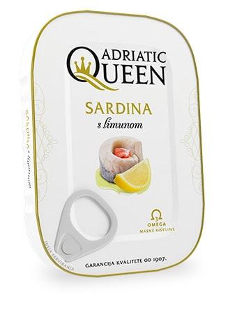 Sardina u biljnom ulju s limunom